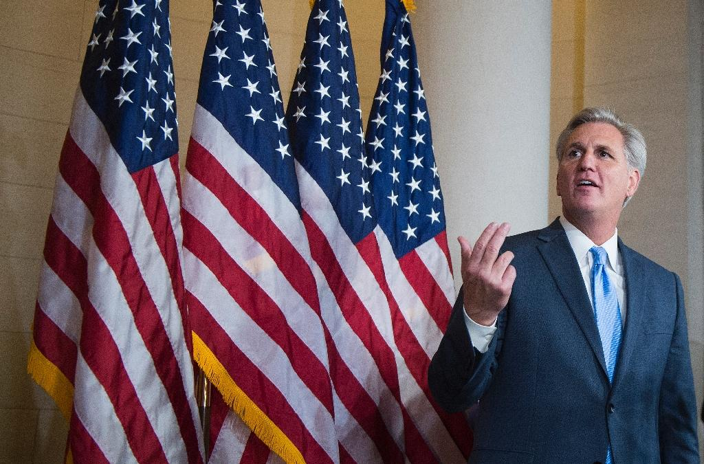 Republican chaos as McCarthy quits US House speaker race