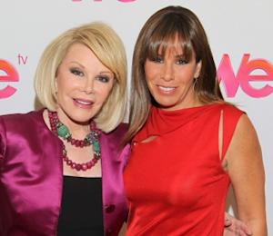 """Joan Rivers and Melissa Rivers of """"Joan & Melissa: Joan Knows Best?"""" attend the WE tv Winter 2011 TCA Panel at the Langham Hotel in Pasadena, Calif. on January 7, 2011  -- Getty Premium"""