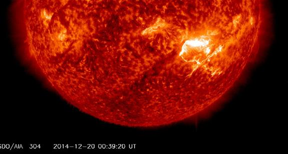Massive Solar Flare From Sun Knocks Out Radio Communications