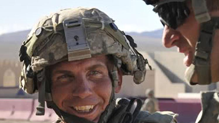 FILE - In this Aug. 23, 2011, file photo provided by the Defense Video & Imagery Distribution System, Sgt. Robert Bales takes part in exercises at the National Training Center at Fort Irwin, Calif. It is still not known if Bales, who allegedly massacred 17 Afghans, was ever diagnosed with post-traumatic stress disorder, but even if he had been that alone would not have prevented him from being sent back to war. The Army diagnosed 76,176 soldiers with PTSD between 2000 and 2011. Many returned to the battlefield after mental health providers determined their treatment worked and their symptoms had gone into remission. The case of Bales has sparked debate about whether the practice needs to be re-examined. The Army is reviewing all its mental health programs and its screening process in light of the March 11 shooting spree. (AP Photo/DVIDS, Spc. Ryan Hallock, File)