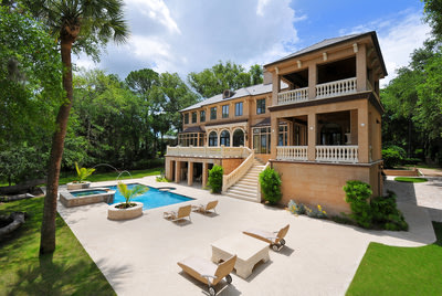 French-inspired estate features private views of South Carolina's Intracoastal Waterway