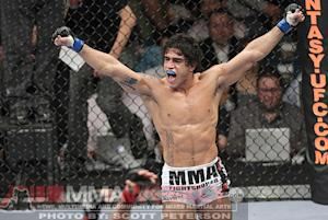 With Thiago Tavares Out of UFC Fight Night 36, Undefeated Brazilian Douglas Silva Steps In