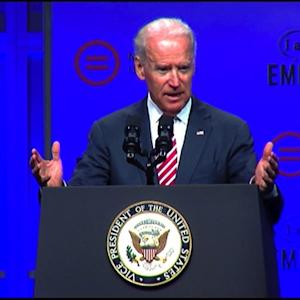 "Joe Biden: Voter ID laws aim to ""repress minority turnout"""