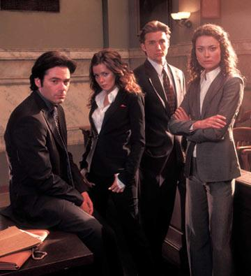 Billy Burke, Anna Friel, Jeff Hephner and Shalom Harlow Fox's The Jury