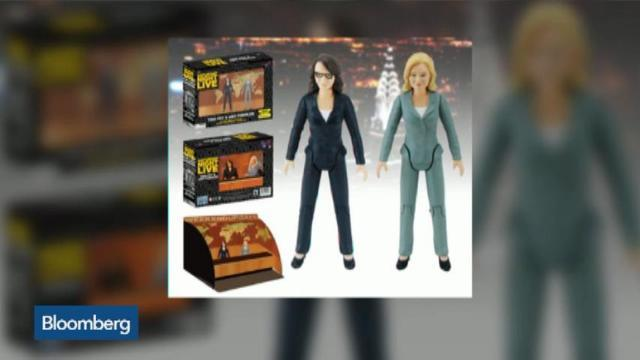 Dynamic Duo: Tina Fey and Amy Poehler Action Figures