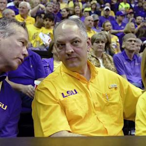 Louisiana governor warns budget crisis could derail 2016 LSU football season