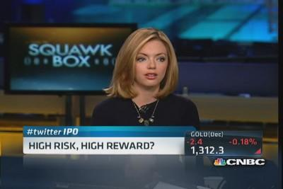 Real risk in Twitter's IPO