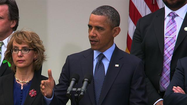 Obama blames failure of background check proposal on GOP