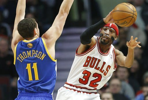 Hinrich scores 25, Bulls beat Warriors 103-87