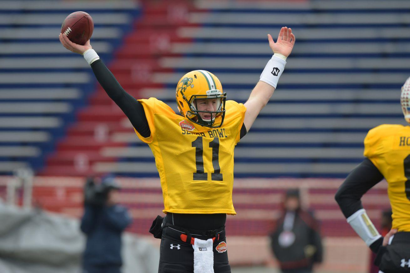 Carson Wentz ahead of Jared Goff in Mike Mayock's 2016 NFL Draft position rankings