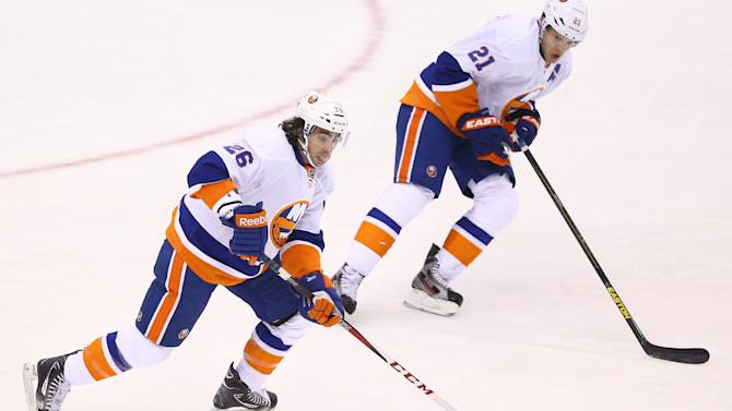 NHL: New York Islanders at Toronto Maple Leafs