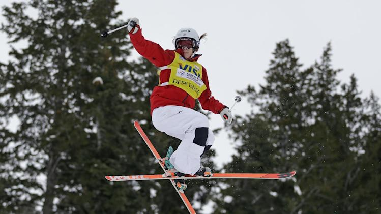 Kearney, Bliodeau win moguls at Park City