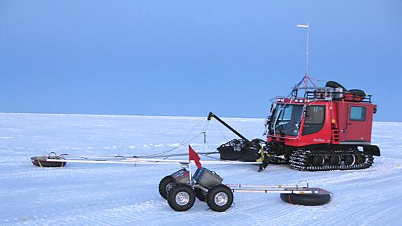 Robot Called 'Yeti' Finds Cracks in Antarctic Ice