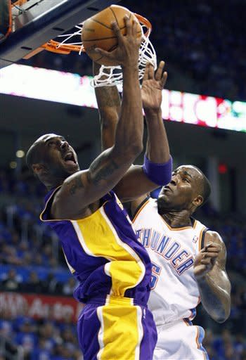 Thunder surge past Lakers 106-90 to win West semis
