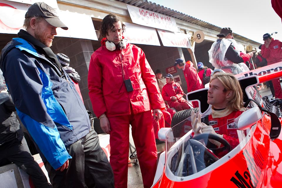 Howard makes a believable racing film with 'Rush'