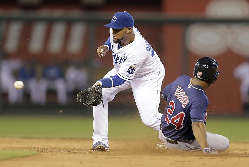 Royals topple Indians 7-2