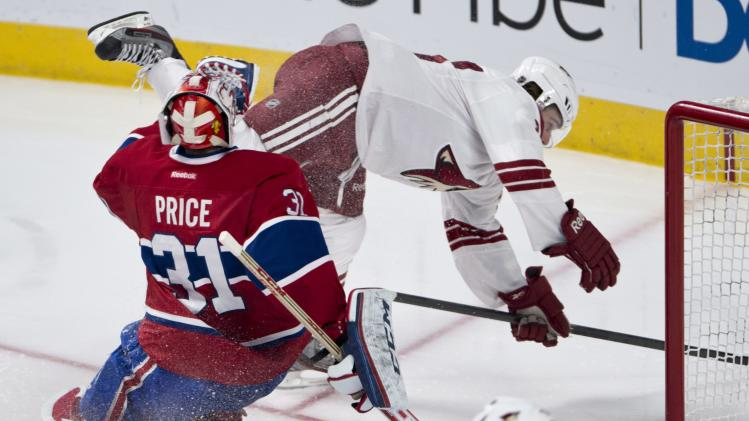 Canadiens sink Coyotes 3-1