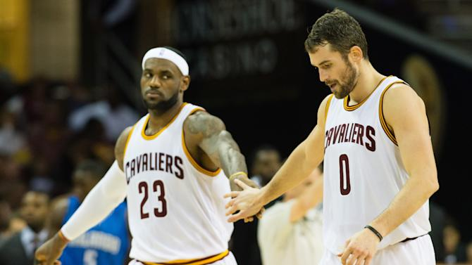 'Frustrated' or not, LeBron James, Kevin Love and the Cavs seem…