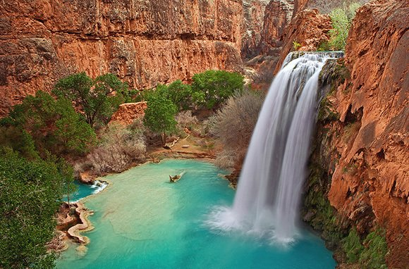 Havasu Falls (Photo: pommekiwi1/flickr via CC Attribution)