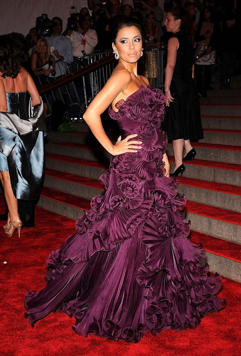 Longoria Eva The Met Gala