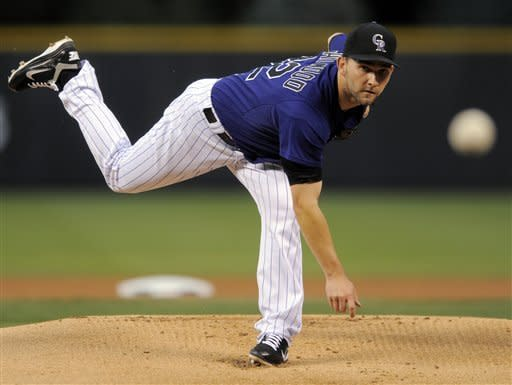 Rockies beat Arizona 4-2 to end 9-game skid
