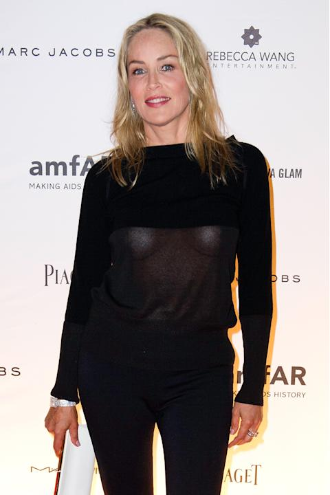 Sharon Stone transparencias