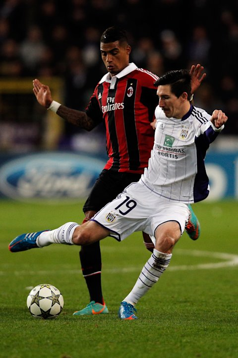 RSC Anderlecht v AC Milan - UEFA Champions League
