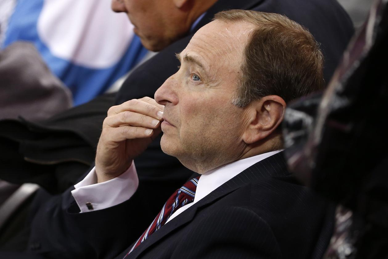 NHL commish doesn't think 'Katy Perry' chants are sexist