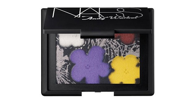 Nars Andy Warhol Flowers palette