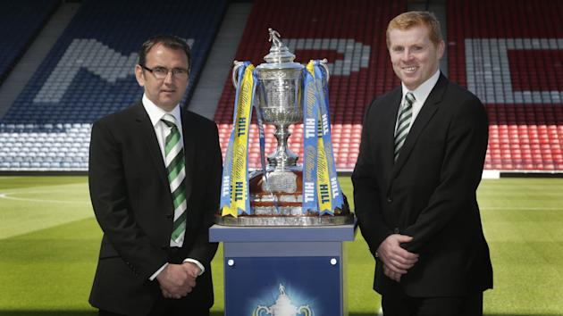 Soccer - William Hill Scottish Cup - Final - Hibernian v Celtic - Media Call - Hampden Park