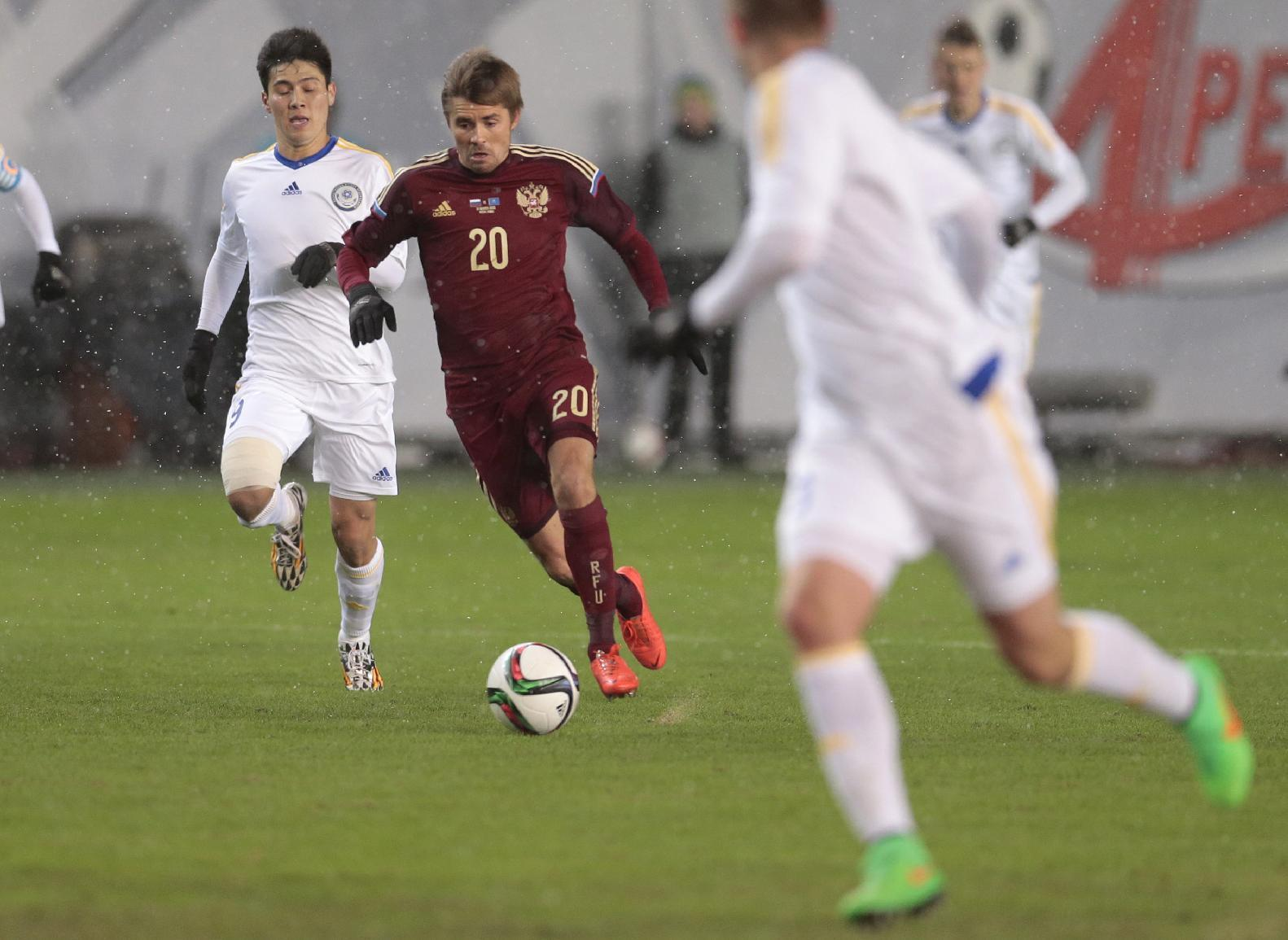Capello experiments in goalless Russia draw with Kazakhstan