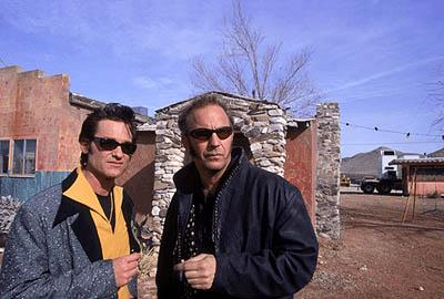 Kurt Russell and Kevin Costner in Warner Brothers' 3000 Miles To Graceland