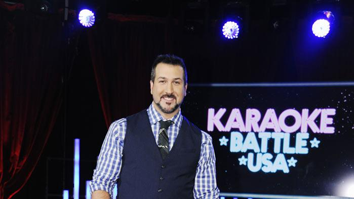 "Joey Fatone hosts ""Karaoke Battle USA."""