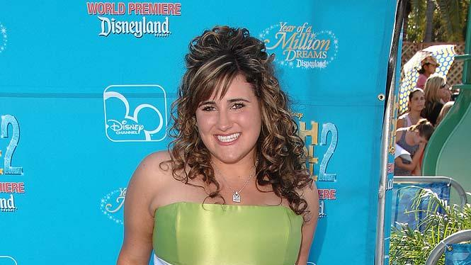 Kaycee Stroh arrives at the world premiere of High School Musical 2 at Downtown Disney.