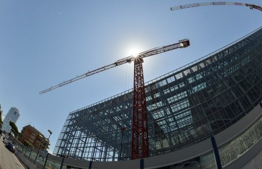 <p>A construction site in the Italian capital Rome. Italy's economy shrank by 0.7 percent in the second quarter, increasing the pressure on Mario Monti's government to balance austerity with growth measures as the country wallows deep in recession.</p>