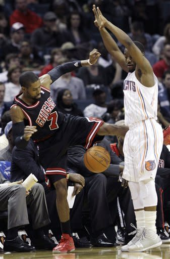 Bulls top Bobcats 95-64, move to 5-1 without Rose
