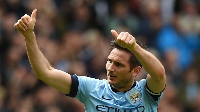 Frank Lampard signed his MLS deal in January 2015 but was kept on at Manchester City and so only arrives in New York at mid-season