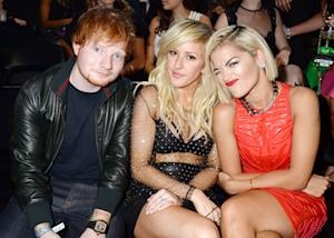Ed Sheeran: I Was Dating Ellie Goulding During VMAs