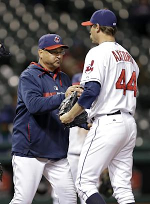 Axford out as Indians closer