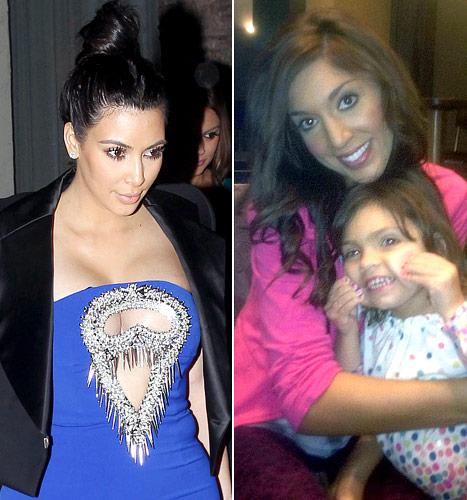 Kim Kardashian Shows Cleavage in Cutout Dress, Farrah Abraham Waxes Daughter Sophia, 3: Top 5 Stories of Today