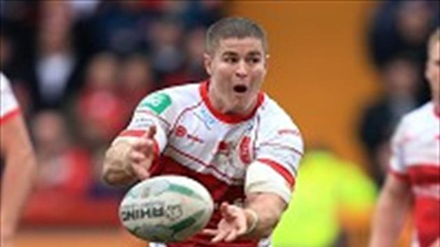 Craig Sandercock was pleased to have Travis Burns, pictured, in the side against Castleford