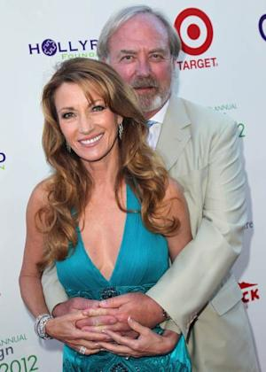 Jane Seymour and husband actor James Keach attend the 14th Annual DesignCare event at a private residence in Malibu on July 21, 2012 -- Getty Premium