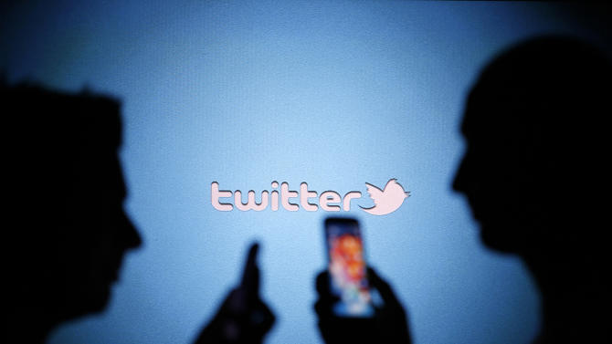 File photo of a Twitter logo in this photo illustration taken in the central Bosnian town of Zenica