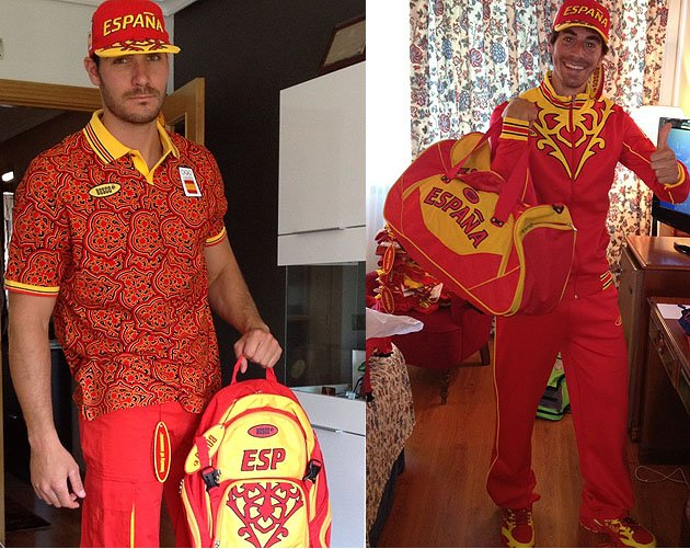 > Spain's Olympic uniforms (seizure warning) (pic) - Photo posted in BX SportsCenter | Sign in and leave a comment below!