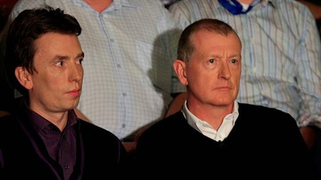 Steve Davis and Ken Doherty (Imago)