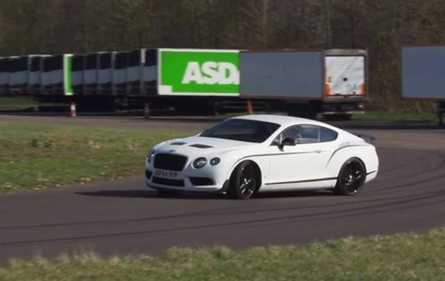 Chris Harris Hops Behind The Wheel Of The $337k Bentley Continental GT3-R: Video