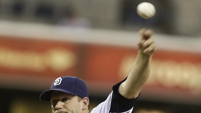 Stults, Hundley lead Padres past Diamondbacks 4-1