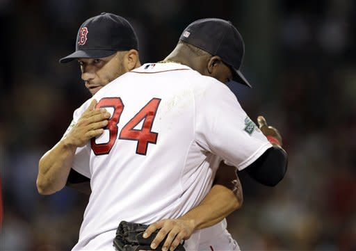 Ortiz leads 3-HR attack, Boston tops Miami 7-5