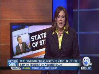 6am: Governor offers tickets