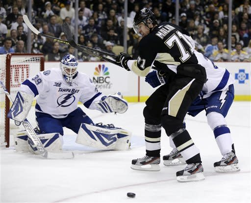Malkin fuels rally, Penguins top Lightning 4-3